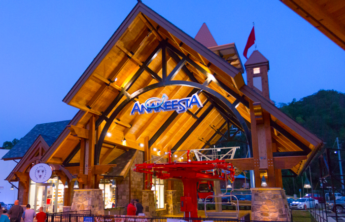 Anakeesta in Downtown Gatlinburg