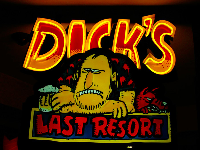 Dick's Last Resort in Gatlinburg, TN