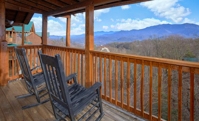 Gatlinburg Cabin in December