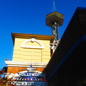 Gatlinburg Space Needle in Downtown