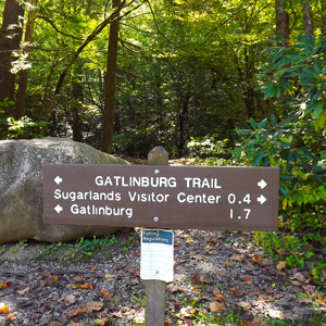 Gatlinburg Trail Sign