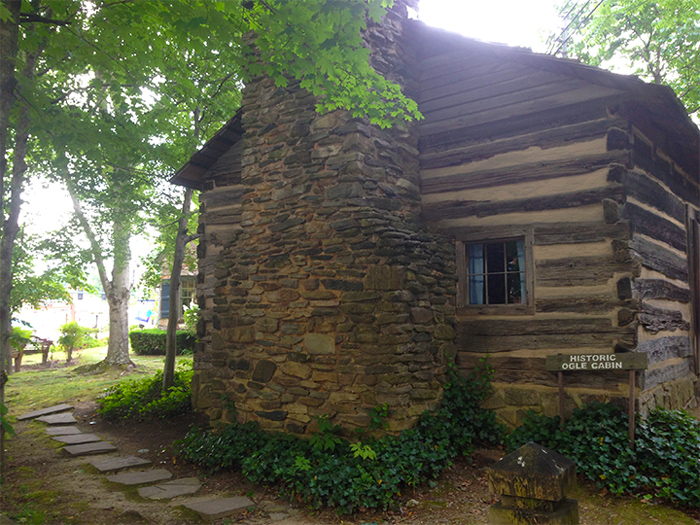 The Ogle Cabin in Downtown Gatlinburg