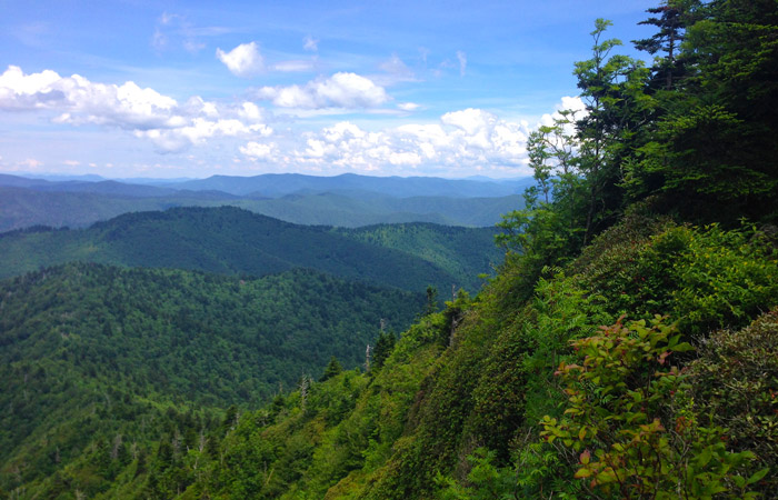 View From The Jump Off, Great Smoky Mountains National Park