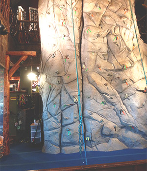 Climbing Wall at NOC in Gatlinburg