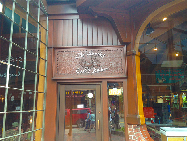 Ole Smoky Candy Kitchen in the Village Shops