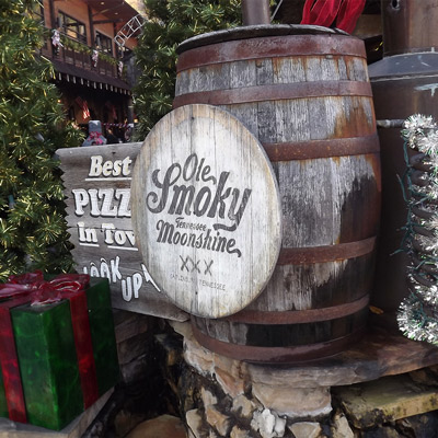 Ole Smoky Moonshine in Gatlinburg, TN