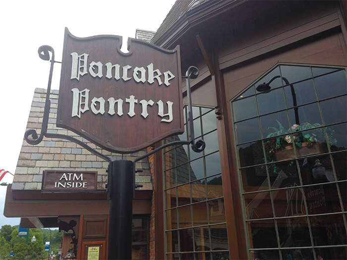 The Pancake Pantry in Gatlinburg, TN