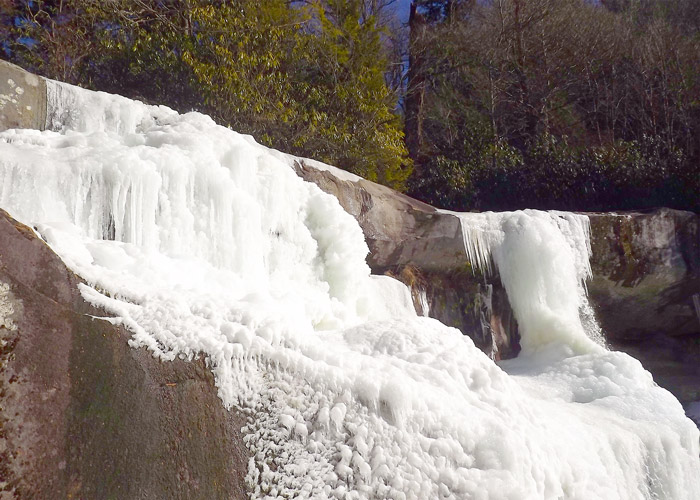 Frozen Falls at Ramsey Cascades