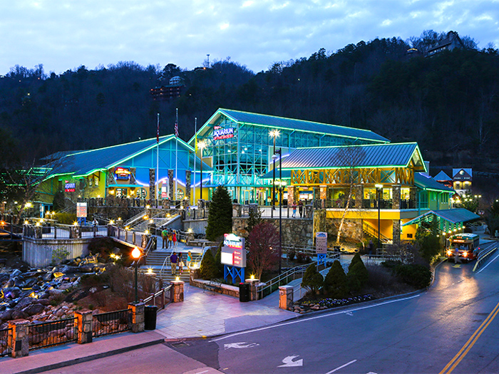 City Parking Near Ripleys Aquarium in Gatlinburg