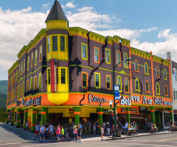 Ripley's Odditorium in Gatlinburg, TN