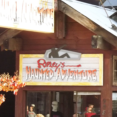 Haunted Adventure in Gatlinburg, TN