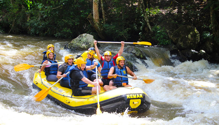 Whitewater Rafting in Gatlinburg in the Smoky Mountains