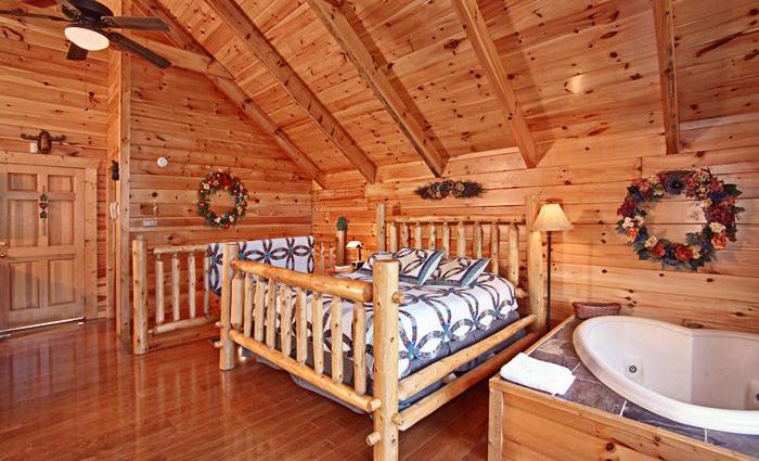 Romantic Gatlinburg Cabin
