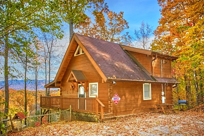 Gatlinburg Cabin During Thanksgiving