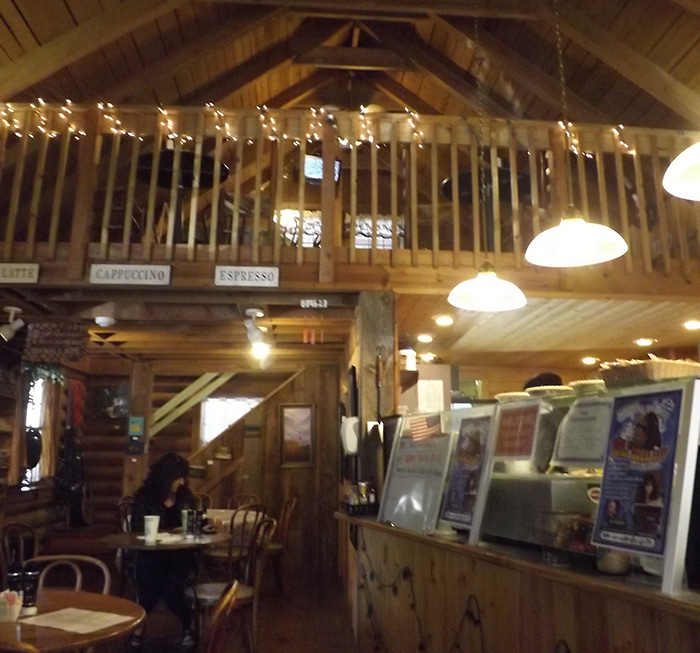 The Cabin Cafe interior