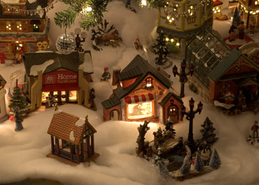 Christmas Village in the Smokies