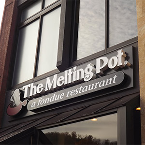 The Melting Pot Restaurant in Downtown Gatlinburg