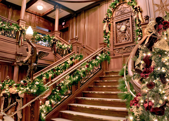 Grand Stair Case in the Titanic