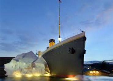 Exterior of Titanic Museum