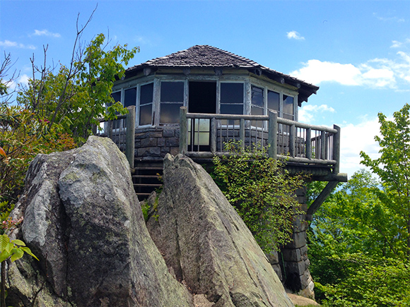Watchtower on Mt. Cammerer Great Smoky Mountains