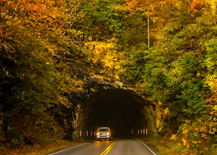 Tunnel in the Smoky Mountains