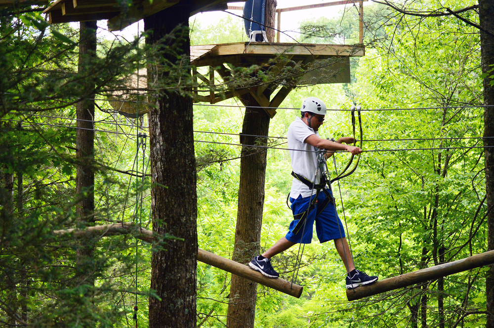 Zip Gatlinburg Ropes Course