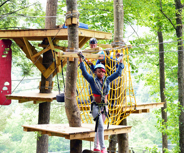 Gatlinburg Ropes Course