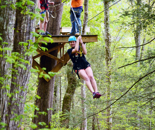 Smoky Mountain Zipline in Gatlinburg