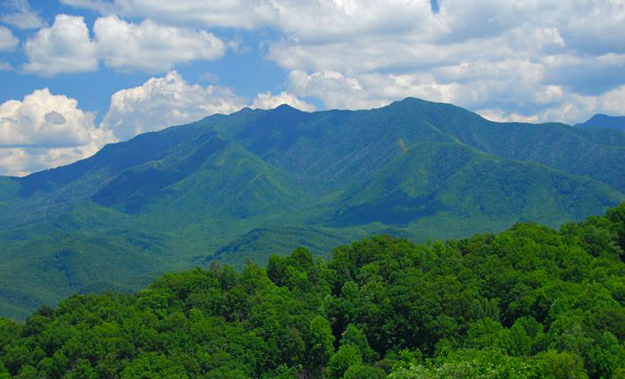 View of Great Smoky Mountains National Park