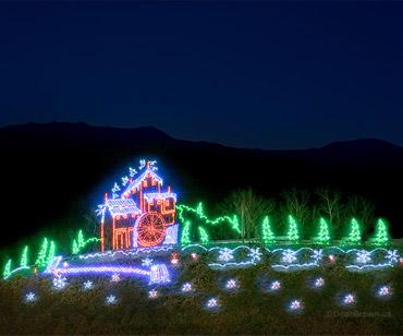 Christmas Lights in the Smokies