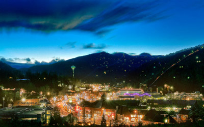 View of Downtown Gatlinburg