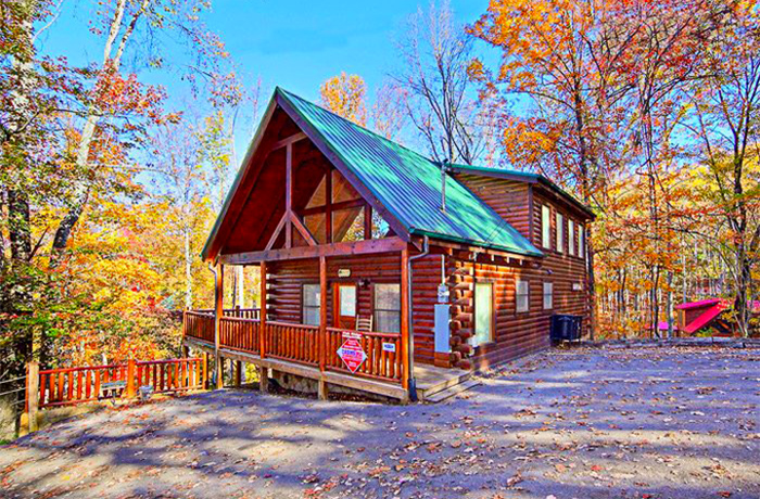 Gatlinburg Cabin in Fall