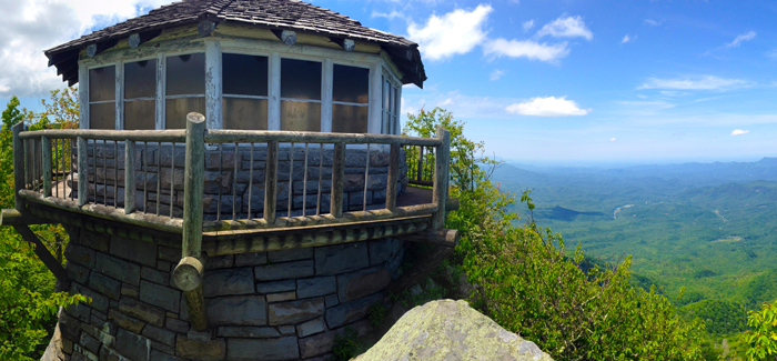 Fire Tower on Mt Cammerer
