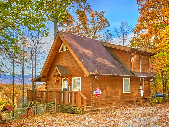 find cabins near the great smoky mountains national park