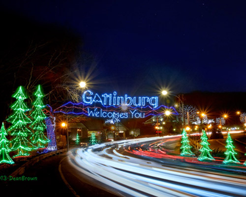 Gatlinburg Christmas Shopping