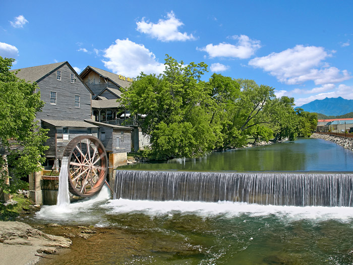 The Old Mill in Pigeon Forge, TN