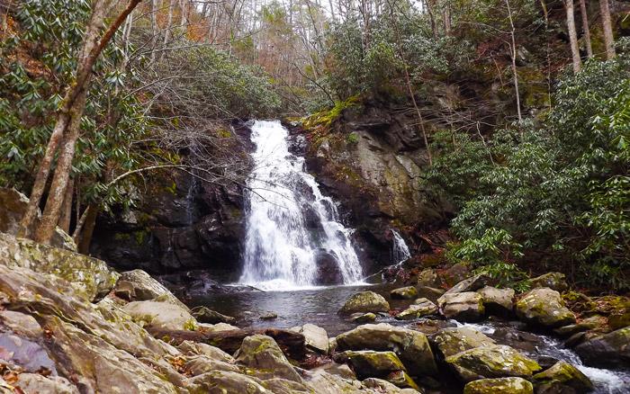 Waterfall Near Gatlinburg, TN