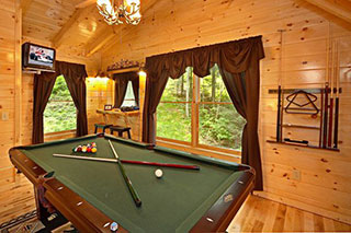 Cabin Rentals with Pool Table