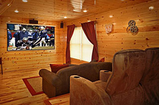 Cabin Rentals with Theater Room
